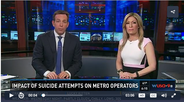Impact of Suicide Attempts on Metro Operators